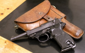 Picture gun, weapons, P38