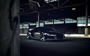 Picture Audi, Audi, Drives, Chrome, Matte Black, CW-5