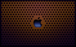 Picture apple, grille, saver