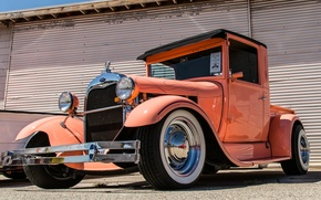 Picture style, retro, Ford, 1928