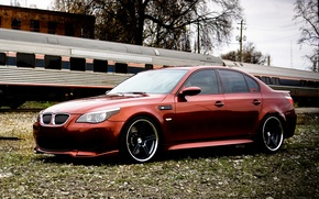Picture BMW, E60, Stance, Concept One