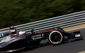 Picture McLaren, Profile, Honda, Formula 1, Jenson Button, McLaren