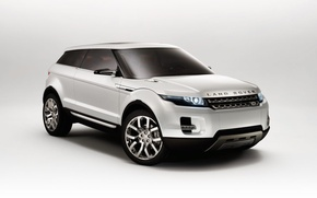 Picture white, the concept car, Land Rover, LRX