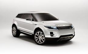 Wallpaper white, the concept car, Land Rover, LRX