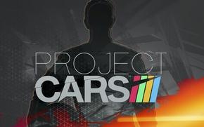 Picture logo, race, project cars, simulator