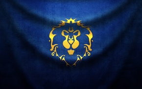 Picture Leo, flag, fabric, folds, wow, world of warcraft