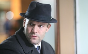 Picture look, hat, actor, Jason Statham, Jason Statham