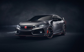 Wallpaper Honda, 2018 Honda Civic Type R, tuning, Type-R, Honda, Civic, Civic