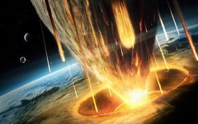 Wallpaper clash, disaster, Planet