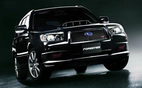 Picture Subaru, STI, Subaru, the front, Forester, Forester