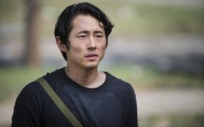 Picture The Walking Dead, Steven Yeun, The Walking Dead, Glenn, Season 5, Steven Yun