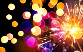 Wallpaper merry christmas, colorful lights, colorful lights, new year, bokeh, merry Christmas, texture, New year, bokeh, ...
