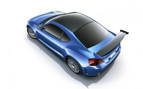 Picture coupe, concept art, Subaru brz STI