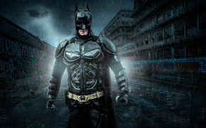 Picture Batman, Super Hero, based on the comic book, dark knights, Lightroom, Photoshop
