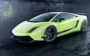 Picture emblem, Superleggera, green, Gallardo LP 570 4