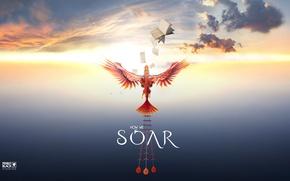 Picture game, sky, bird, wings, kumo, Virual Reality, Penny Black Studios, Soar, How We Soar