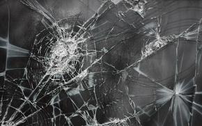 Picture glass, cracked, texture, broken, Wallpaper from lolita777