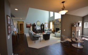 Picture design, style, interior, living space
