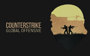 Picture Counter-Strike: Global Offensive, CS:GO, Contra, global., CSGO. csgo