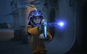 Picture blaster, animated series, Star wars: Rebels, Star Wars: Rebels, Ezra