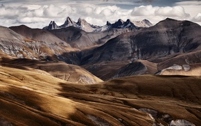 Picture mountains, mountains, Sven Muller