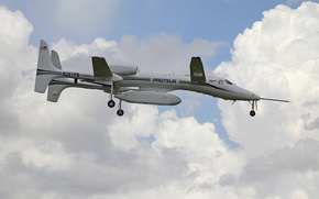 Wallpaper Proteus, the plane, experimental, flight