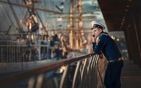 Picture form, cap, Jack, sailor