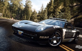 Picture Lamborghini, Need for Speed, nfs, police, 2013, pursuit, Rivals, Miura Concept, NFSR