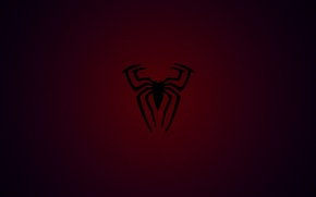 Wallpaper spider, red, blue, marvel, awesome, web, spiderman