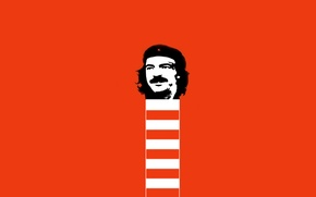 Picture minimalism, Ernesto Che Guevara, th boyars, Ernesto Che Guevara, Boyarsky