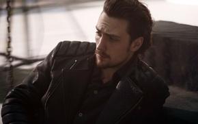 Picture look, jacket, actor, male, Aaron Taylor-Johnson, Aaron Taylor-Johnson
