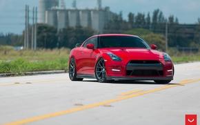 Picture VFS6, Vossen, Edit, GTR, Nissan, Wheels 2016, 1040, Graphite
