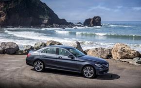 Picture Mercedes-Benz, Mercedes, US-spec, 2015, W205, C 350