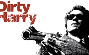 Wallpaper actor, action, Dirty Harry, 1971, crime, Clint Eastwood