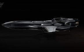 Picture Star Citizen, space ship, Merlin