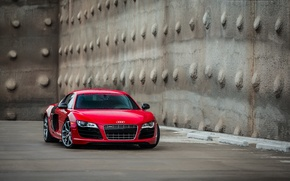 Picture Audi, Audi, red, red