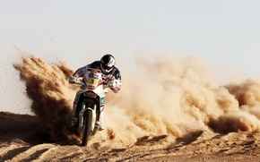 Picture Sand, Sport, Speed, Motorcycle, Moto, Rally, Dakar