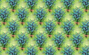 Wallpaper spring, texture, a bunch, March 8, art, background, forget-me-nots, flowers