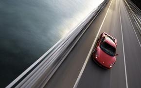 Wallpaper road, 458, Ferrari, bridge
