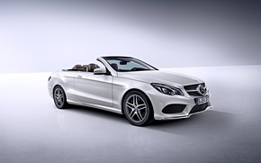 Picture Auto, White, Machine, Convertible, Mercedes, Car, Mercedes Benz, e-class