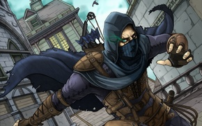 Picture Game, Mask, Hood, Male, Game, Thief, Garrett Master