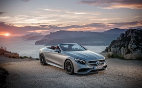 Wallpaper Mercedes-Benz, convertible, Mercedes, AMG, Cabriolet, S-Class, A217