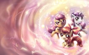 Picture mood, cartoon, art, pony, My Little Pony, for children, horses, children