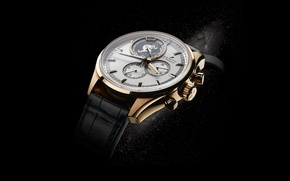 Picture watch, gold, Zenith, The - First, tourbillon