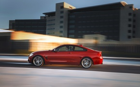 Picture red, bmw, sport, line, coupe, 4series, 435i, f32