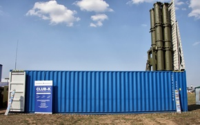 Picture Club-K — Russian container missile system, ships of different classes