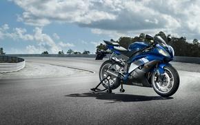 Picture motorcycles, sport, race, sport, track, yamaha, moto, bike, Yamaha