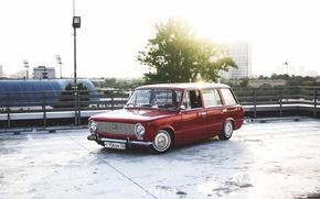 Picture retro, red, red, classic, jdm, tuning, retro, classic, Lada, vaz, VAZ, lada, Lada, stance, universal, …