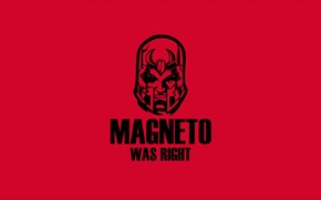 Picture red, black, magneto