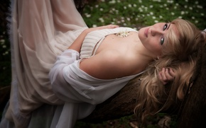 Picture hair, dress, blonde, beauty